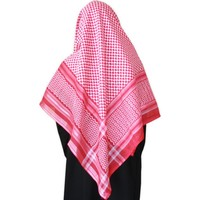 Large Scarf - Shemagh Red 134cm x 134cm