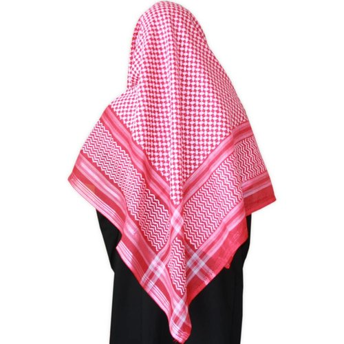 Large Scarf - Shemagh Red 134x134cm