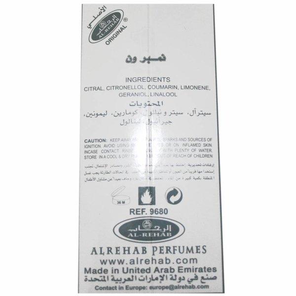 Al Rehab  Konzentriertes Parfümöl Number 1 - Parfüm ohne Alkohol