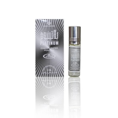 Al-Rehab Concentrated Perfume Oil Platinum by Al-Rehab 6ml