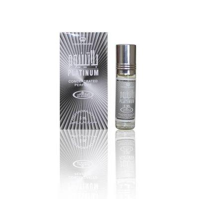Al-Rehab Konzentriertes Parfümöl Platinum - Parfüm ohne Alkohol