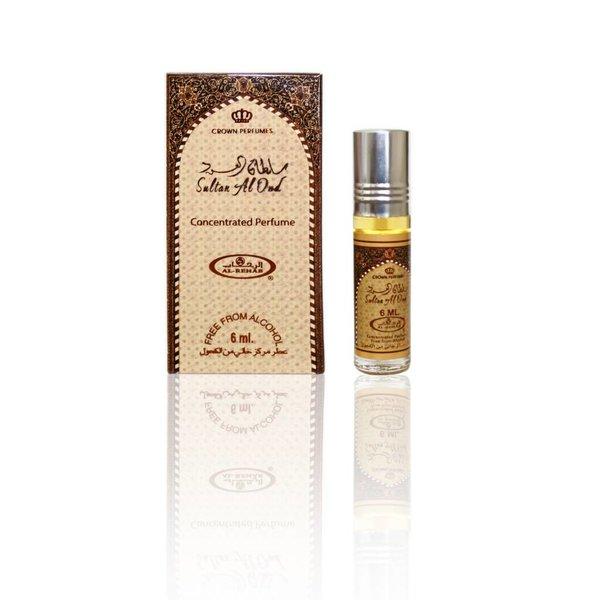 Al-Rehab Concentrated Perfume Oil Sultan Al Oud by Al Rehab 6ml