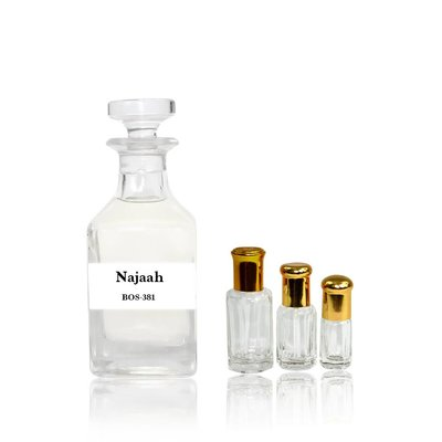Oriental-Style Concentrated perfume oil Najaah - Perfume free from alcohol
