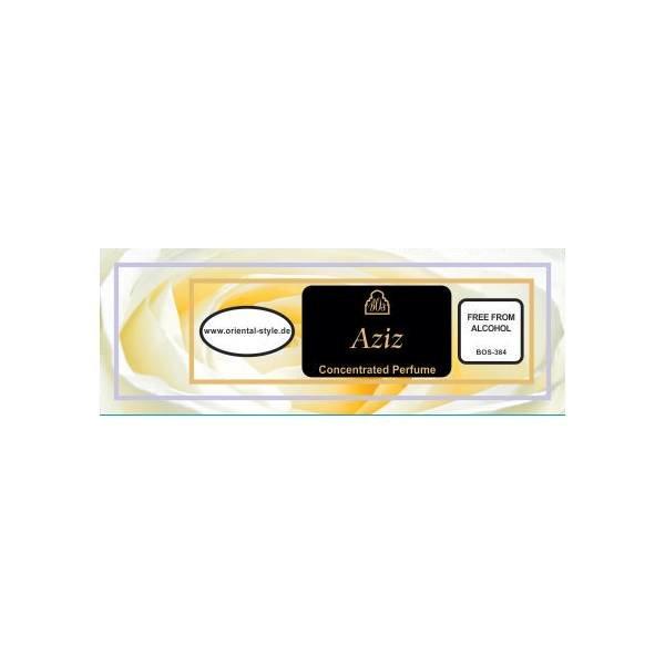 Oriental-Style Parfümöl Aziz - Parfüm ohne Alkohol