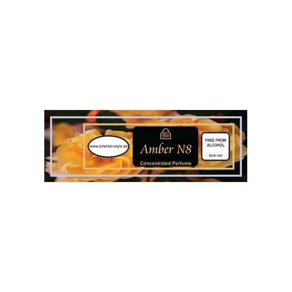 Oriental-Style Parfümöl Amber N8 - Parfüm ohne Alkohol