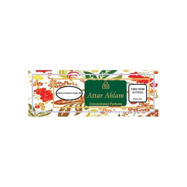 Oriental-Style Parfümöl Attar Ahlam - Parfüm ohne Alkohol