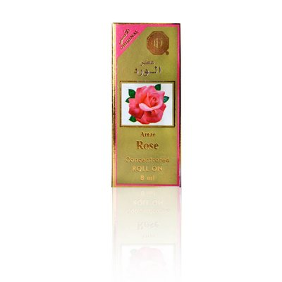 Surrati Perfumes Concentrated Perfume Oil Attar Rose 8ml