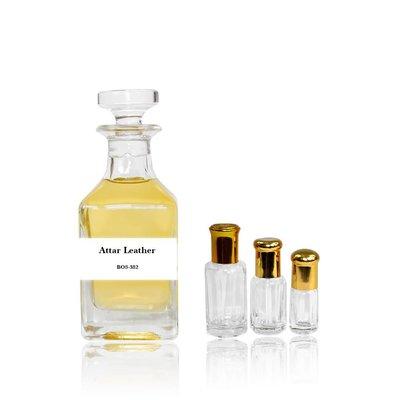 Oriental-Style Parfümöl Attar Leather - Parfüm ohne Alkohol
