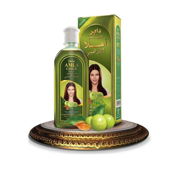 Dabur Dabur Amla Gold Haaröl mit Mandeln, Henna und Amla!