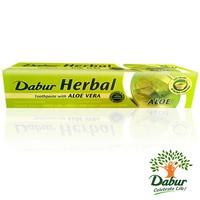 Dabur Ayurvedic Toothpaste with Aloe Vera - Vegan, fluoride-free (100ml)