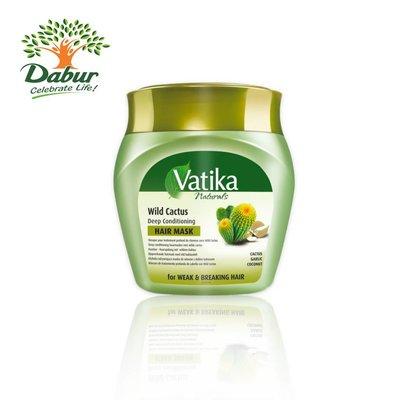 Vatika Dabur Haarkur Wild Cactus mit Kaktus - Nachhaltige Pflege mit Tiefenwirkung 500g
