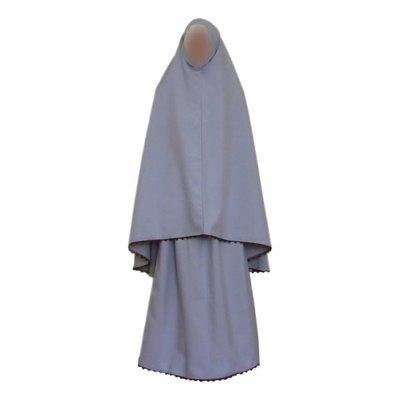 Gebetskleidung Grau - Zweiteilig
