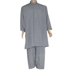 Salwar Kameez Men - Silver Grey