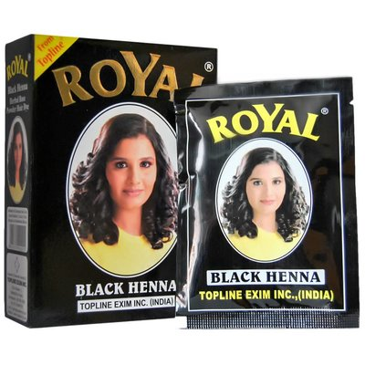 Royal Henna Powder - Black (60g)