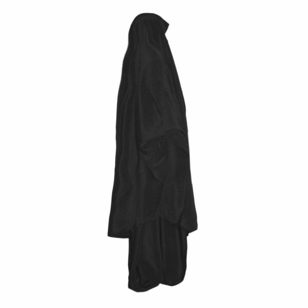 Khimar Set with baggy Sunna pants Black