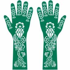 Hennaschablone Hand Und Arm