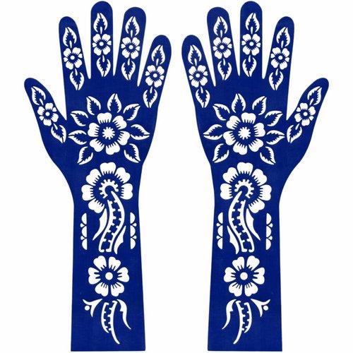 Henna Stencil Hand And Arm