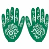 Self-adhesive Henna Stencil For Tattoos - Hand