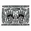 Selbstklebende Hennaschablonen Für Tattoos Maxiset (38cm x 27cm)