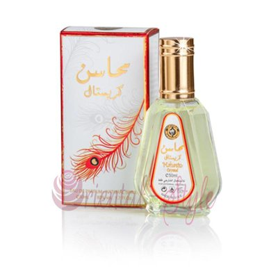 Ard Al Zaafaran Mahasin Crystal Eau de Parfum 50ml von Vaporisateur/Spray