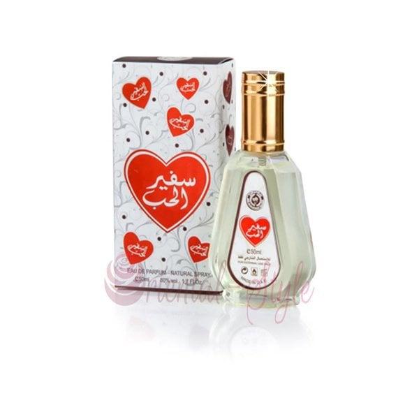 Ard Al Zaafaran Perfumes  Safeer Al Hub Eau de Parfum 50ml von Vaporisateur/Spray
