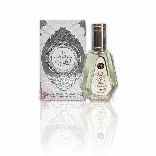 Ard Al Zaafaran Perfumes  Sultan Al Quloob Eau de Parfum 50ml Vaporisateur/Spray