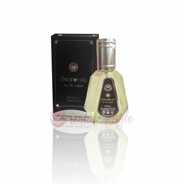 Ard Al Zaafaran Swarovski Black Eau de Parfum 50ml by Al Rehab Vaporisateur/Spray