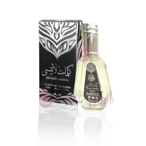 Ard Al Zaafaran Perfumes  Kalimat Latansa Eau de Parfum 50ml Vaporisateur/Spray