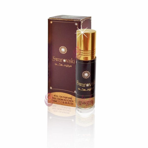 Ard Al Zaafaran Perfumes  Concentrated perfume oil Swarovski 10ml - Perfume free from alcohol