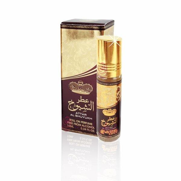 Ard Al Zaafaran Perfumes  Concentrated perfume oil Attar Al Shuyukh 10ml - Perfume free from alcohol