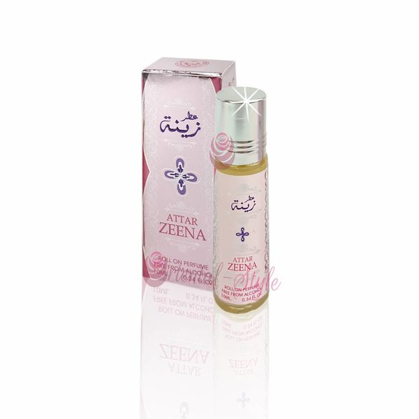 Ard Al Zaafaran Perfumes  Concentrated perfume oil Attar Zeena 10ml - Perfume free from alcohol