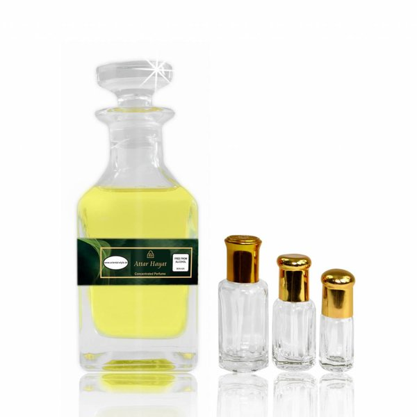 Oriental-Style Perfume oil Attar Hayat - Perfume free from alcohol