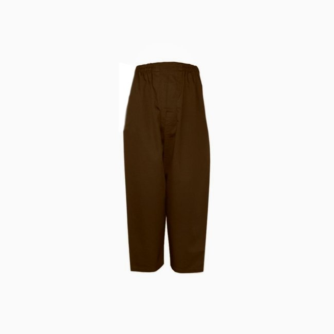 Islamic Sunnah pants in dark brown