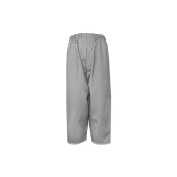 Comfortable and loose-fitting Islamic Sunnah pants in heather gray: