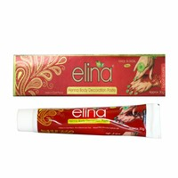 Elina - Red Cone henna paste mehndi tattoos (30g)