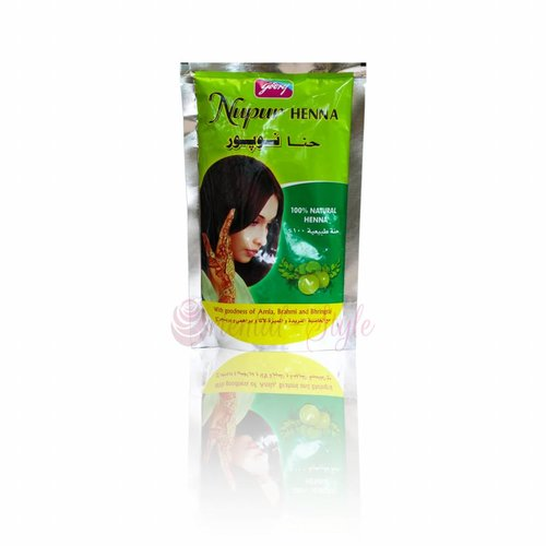 Nupur Darkred Herbal Henna Powder 200g