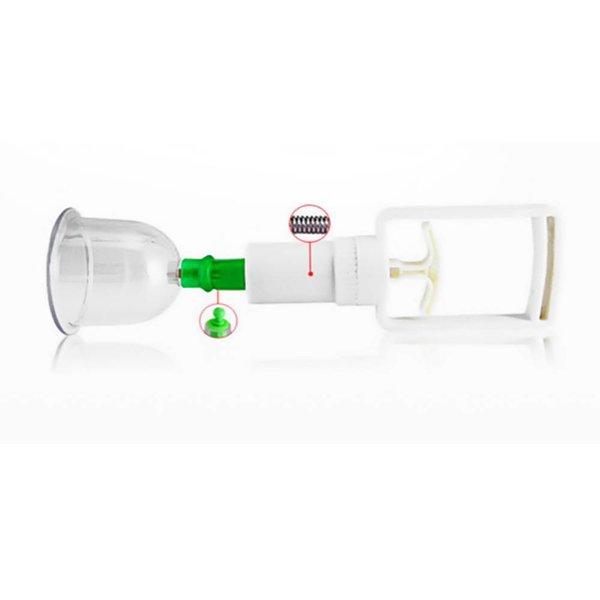 Vacuum Cupping Hijamah Therapy Set 6 Cups incl. Vacuum Pump