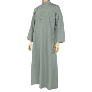 Al Haramain Arabic Galabiya - Blue Grey
