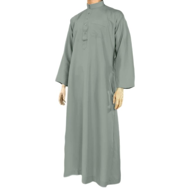 Al Haramain Arabic Galabiya - Blue Grey