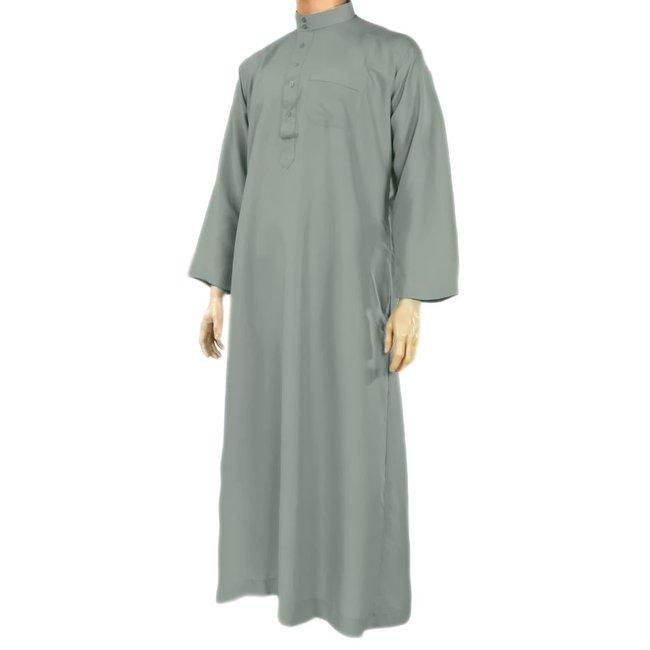 Al Haramain Jubbah Thobe Jalabiya - Graublau