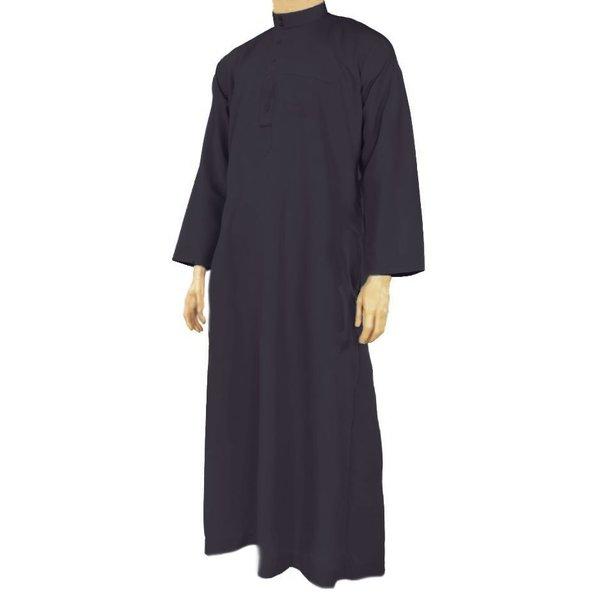 Al Haramain Arabische Jalabiya Djellabia Kaftan Für Männer In Dunkelblau