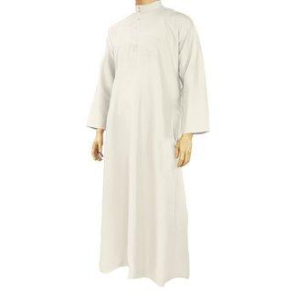 Al Haramain Jubbah Thobe Jalabiya - Creme