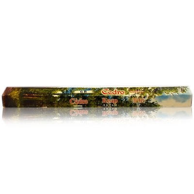 GR Incense Incense sticks with Cedar scent (20g)
