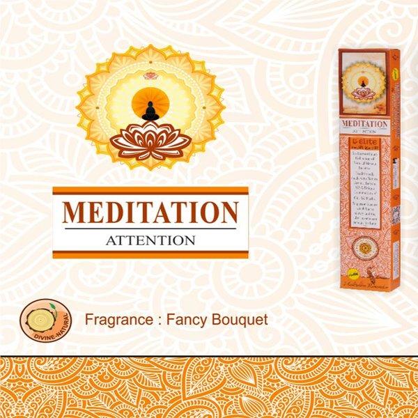 Sree Vani Incense sticks Elite Meditation Floral Bouquet (15g)
