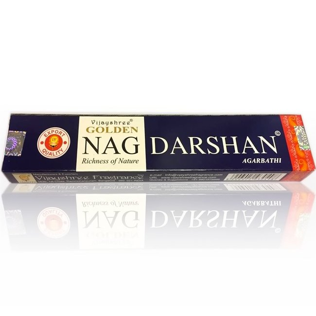 Incense sticks Vijayshree Golden Nag Darshan (15g)