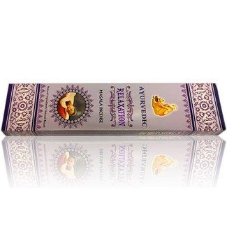 Incense sticks Ayurvedic Relaxation Masala (15g)