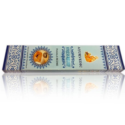 Incense sticks Ayurvedic Stress Relief (15g)