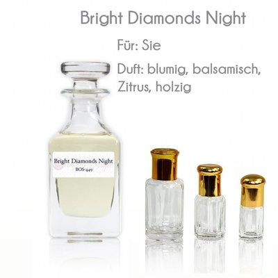 Oriental-Style Perfume oil Bright Diamonds Night - Perfume Free From Alcohol