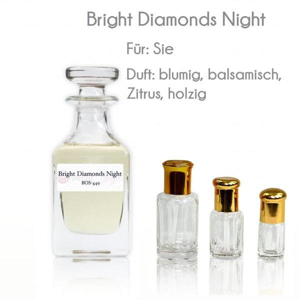 Oriental-Style Perfume oil Bright Diamonds Night - Perfume Free From Alcohol
