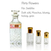 Oriental-Style Perfume oil Flirty Flowers Perfume free from alcohol